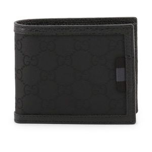 Gucci Mens Guccissima Bifold Wallet Card Case